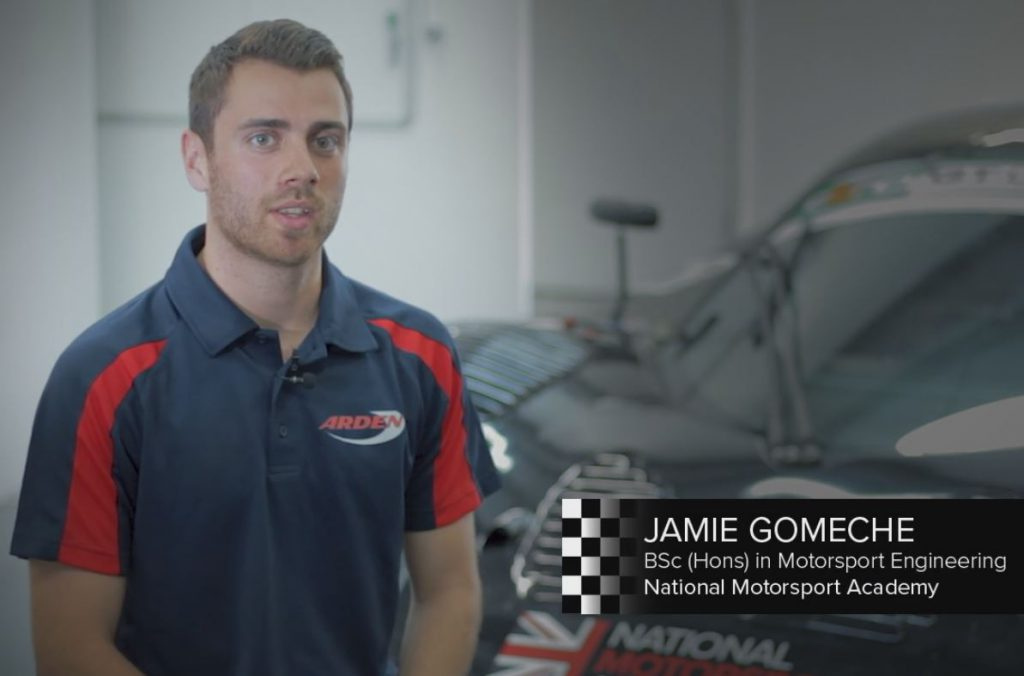 NMA student Jamie Gomeche