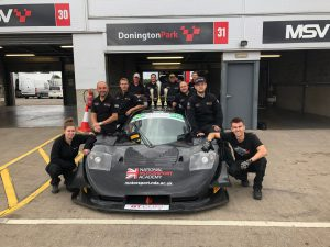 Team NMA in GT Cup Donington