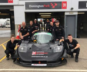 Team NMA at GT Cup Donington