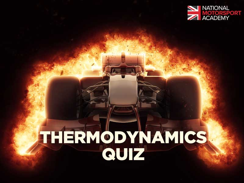 motorsport thermodynamics quiz
