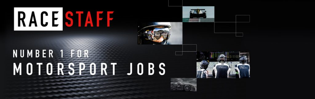 racestaff motorsport jobs header