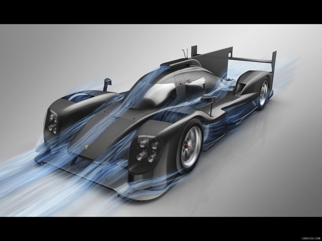 porsche aerodynamics