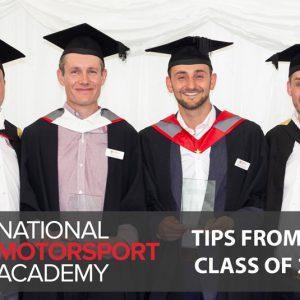 National Motorsport Academy 2019 Graduates