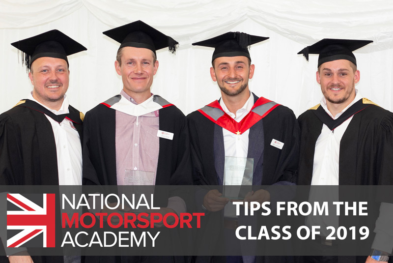 National Motorsport Academy 2019 Graduates