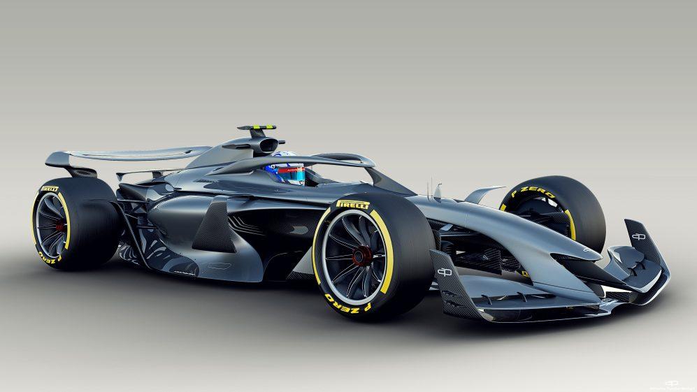2021 Formula 1 car