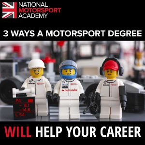 3 WAYS A MOTORSPORT DEGREE WILL HELP YOUR CAREER